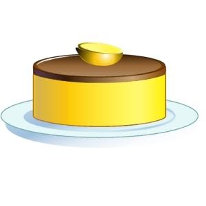 Bavarois citron chocolat par reve concours du jeu de cuisine