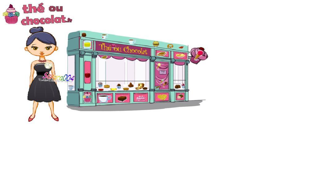 devanture boutique boulangerie patisserie verte violet