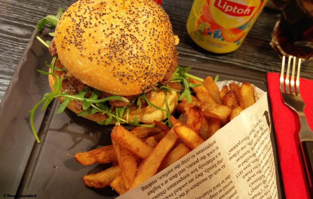 paris french burger