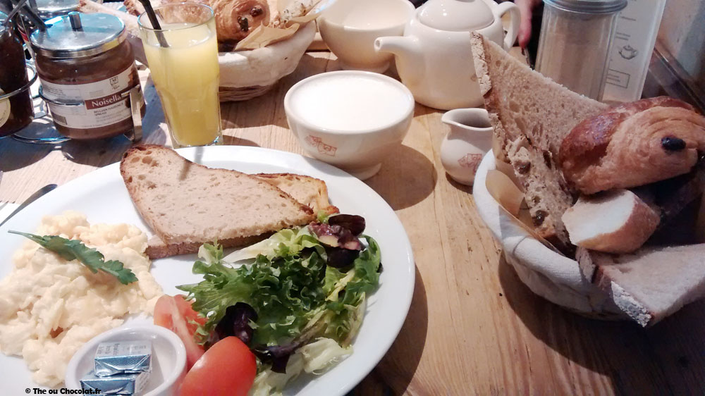 Brunch au Pain Quotidien