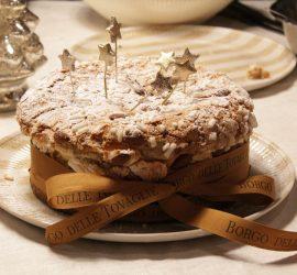 panettone artisanal farci à la glace vanille