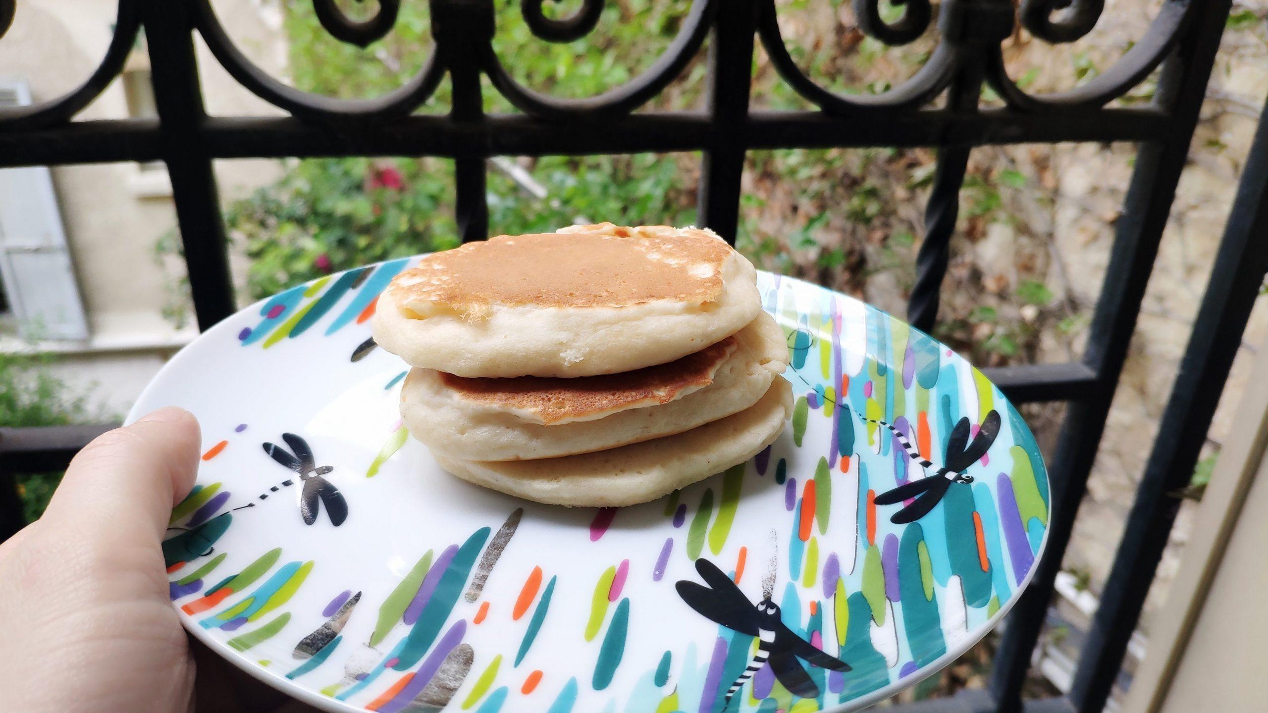 Ma recette de pancakes sans oeuf